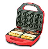Smart Planet BNB-1BW Bacon Nation Bacon Waffle Maker, Red