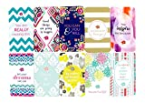 "bloom daily planners Belief Cards - Cute Inspirational Quote Cards - Set of TEN 2"" x 3.5"" Cards - Assorted Designs"
