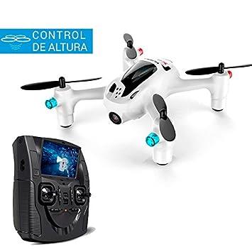 Mini Drone FPV Hubsan X4 Plus | Cámara HD | Emisora con Pantalla ...