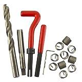 M12 x 1.25mm Thread Tap Repair Cutter kit helicoil 15pc set damaged thread AN061