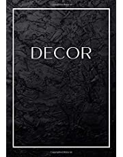 Decor: Decorative Book For Styling Your Coffee Table, Console Table, Bookshelf, End Table & More   Show Home Display Style Effect, Stackable Book - Large Text On Spine