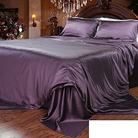 Pure Silk Bed Linen Thick Seamless Silk Bed Mikasa T 180x220cm 71x87inch