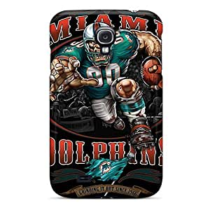 Brand New S4 Defender Case For Galaxy (miami Dolphins)