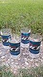 Cheap Set of 4 Upcycled Bud Ice tumblers