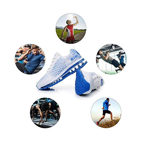 TORISKY Basket Homme Femme Air Chaussure de Sports Course Sneakers Basses Mode Casual Multisports Fitness Gym