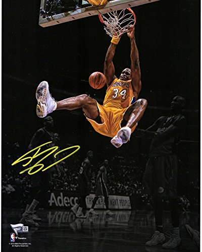 Shaquille O'Neal Los Angeles Lakers Autographed 11