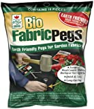 Biodegradable Landscape Pegs For Securing Landscape Fabric, Burlap and Netting, 10 pack