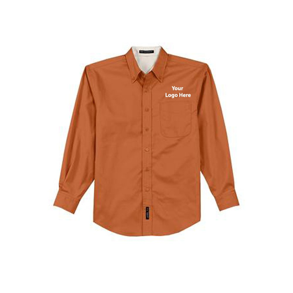 LS Shirt - 24 Quantity - $27.25 Each - BRANDED with YOURLOGO/CUSTOMIZED