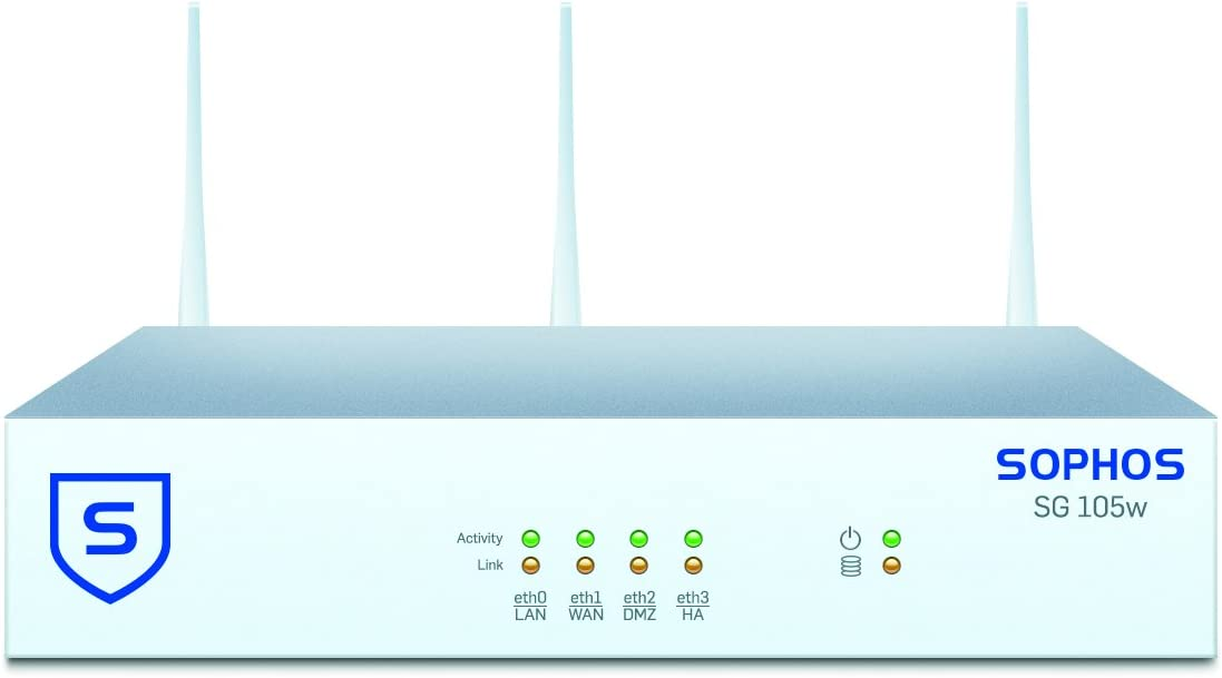 Sophos SW1ATCHUS SG 105w Security Appliance WiFi – US Power Cord Revision 2