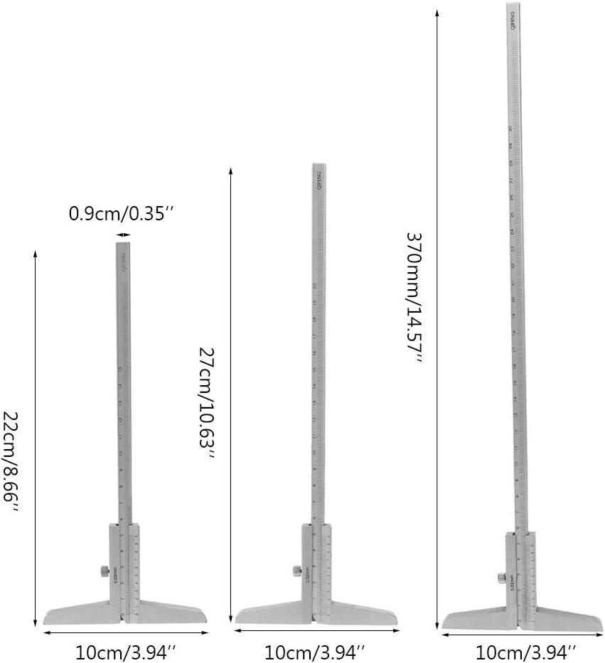 Mmnas 0-150mm 200mm 300mm Tiefenmessschieber 0,02mm Genauigkeit Tiefenmesser Tiefenmesswerkzeug