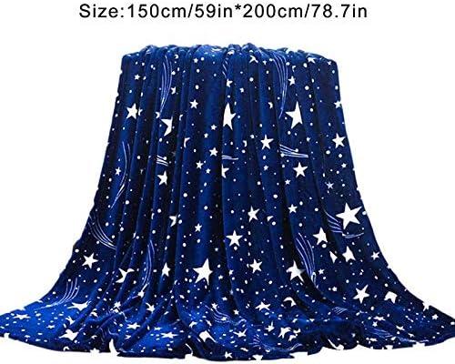 NIBESSER Kuscheldecke Tagesdecke Mikrofaser Coral-Fleece Wohn-Decke Bett/überwurf 150/×200 cm 2 gelb, 150cmx200cm