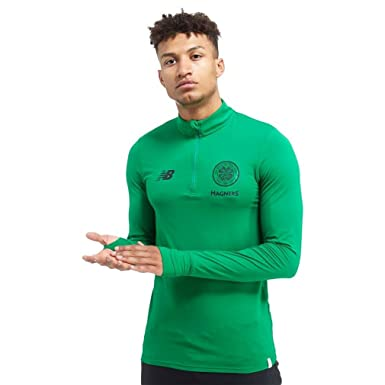 New Balance Celtic FC 1 2 Zip Training Top 81a023079