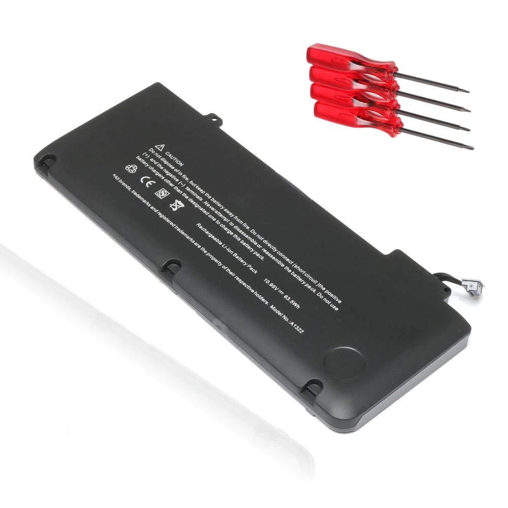 Bateria A1322 A1278 2012 2011 2010 2009 Para Macbook Pro 13' Mc374ll/a Mc375ll/a Mb991ll/a Mb990ll/a 20-6547-a 661-5557