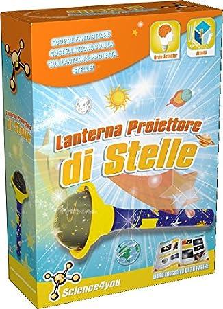 Science4you - Linterna proyector de estrellas - Juguete educativo ...