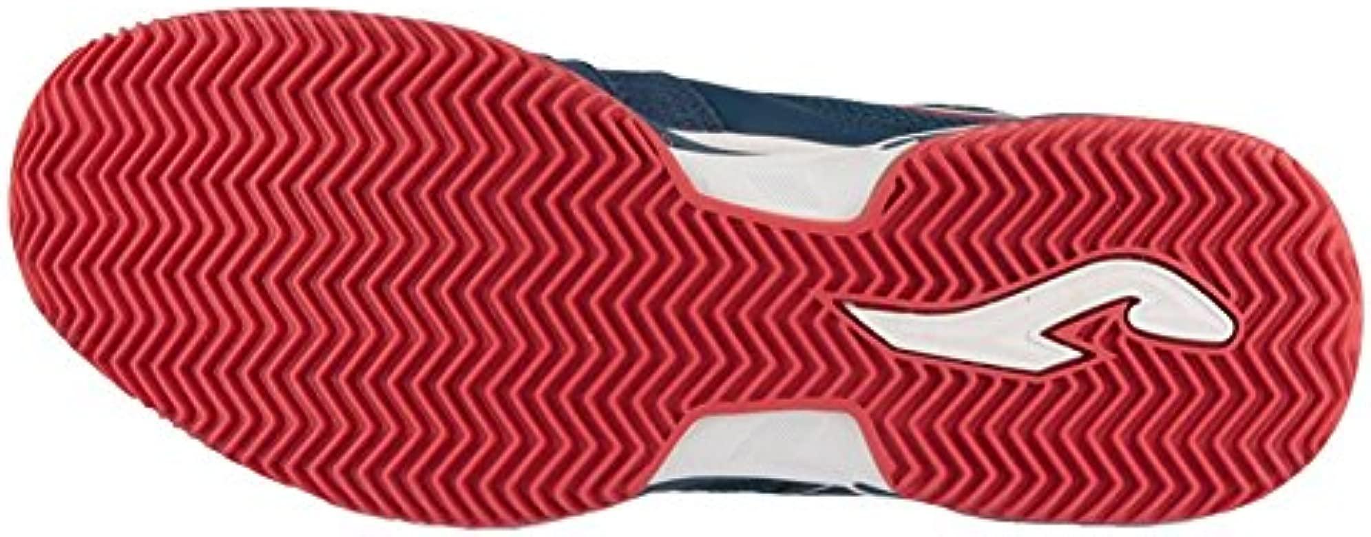 Zapatilla Joma Padel Set Clay Navy-Red Talla 42 EUR: Amazon.es ...