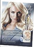 **PRINT AD** With Natasha Poly For L'Oreal Feria Hair Color 2013 **PRINT AD**