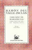 Tablado de Marionetas para Educacion de Principes, Valle-Inclán, Ramón del, 8423919293
