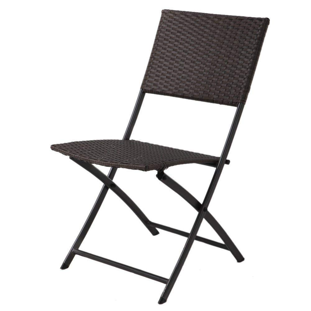 Amazon.com: Grand patio Parma Rattan Patio Bistro Set de ...