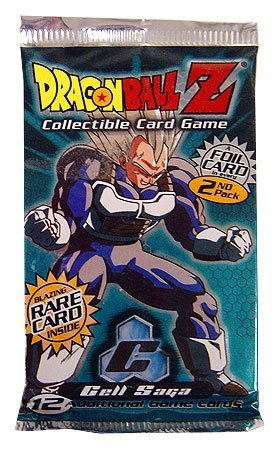 - Dragonball Z Score Trading Card Game Cell Saga Booster Pack 10 Cards