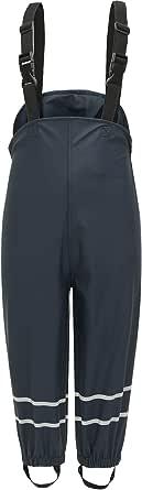 BenBoy Pantalon Impermeable Lluvia Infantiles Pespirable Resistentes al Viento Trekking Nieve Esqui Playa Antiincrustante Pantalones de Barro para Niño Niña