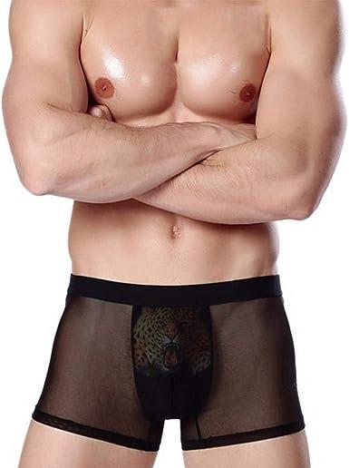 Saoye Fashion Algodón Boxer Calzoncillos Sport para Debajo Hombres Ropa Pack Hombres Hombres De La Cintura Sche Hombres Hombres Paquete De 4: Amazon.es: Ropa y accesorios
