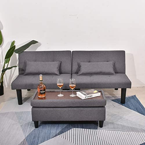 BINGTOO Futon Sofa Bed Couch and Sleeper