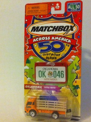 100% precio garantizado Matchbox Across America 50th Birthday Series. Series. Series. Oklahoma Cattle Truck by Matchbox  forma única