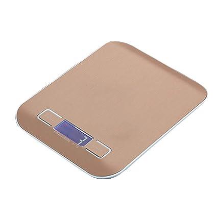 Kitchen Equipment Mini balanza de Cocina electrónica, la precisión de Acero Inoxidable Resistente al Agua