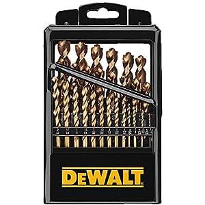 DEWALT DW1369 29-Piece Titanium Pilot-Point Drill Bit Set