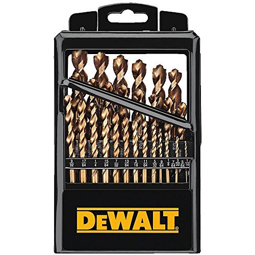 DEWALT Titanium Drill Bit Set with Pilot Point, 29-Piece ()