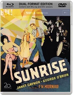 Sunrise Blu-ray + DVD (1927) 3-Disc <Special Dual Format > & 20-Page Booklet > F.W. Murnau