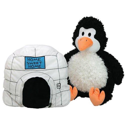 Jay Franco Happy Napper / Play Pillow, Penguin to Igloo
