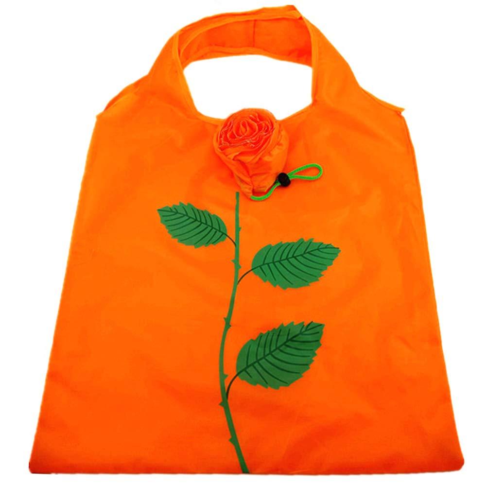 激安特価 Opromo軽量美しいバラの折り畳み式再利用可能な食料雑貨バッグ 折り畳み式ショッピングバッグは ポケット ポケット 10色に収まる - 紺碧 - 100 点入り 点入り 100 B07G6Y8196 オレンジ オレンジ|100, 松前町:9f5bc517 --- mail.mrplusfm.net