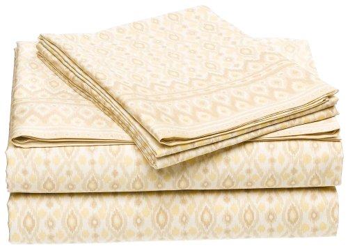 Michael Kors Bali 300-Thread-Count Cotton Sateen Queen Flat Sheet
