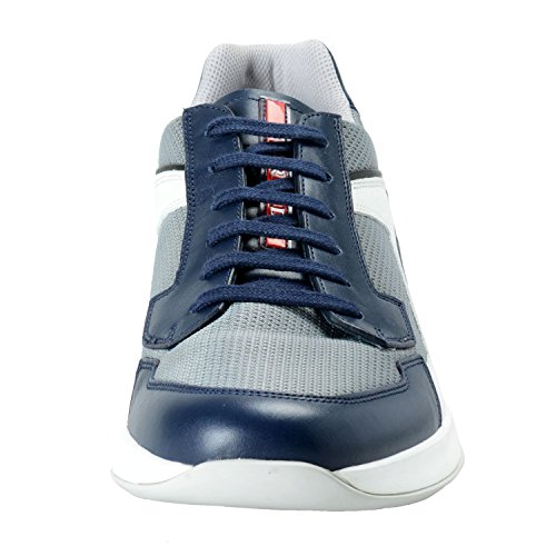 Scarpe Da Ginnastica Da Uomo In Pelle Multicolore Prada Shoes Us 11.5 It 10.5 Eu 44.5