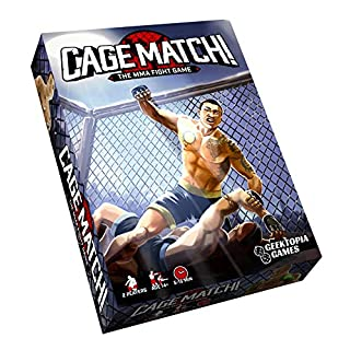 New! Cage Match! The MMA Fight Game Strategy Board Game