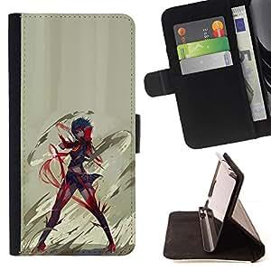 Momo Phone Case / Flip Funda de Cuero Case Cover - Anime héroe;;;;;;;; - Samsung Galaxy Note 4 IV