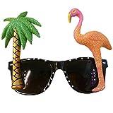 Palm Tree and Flamingo Sunglasses Christmas Xmas Holiday - Best Reviews Guide