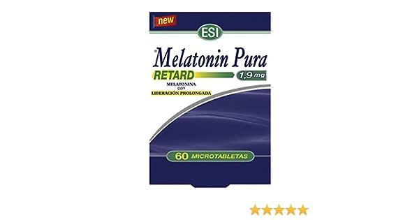 MELATONIN RETARD PURA 1,9 MG 60 TABLETAS: Amazon.es: Salud y cuidado personal