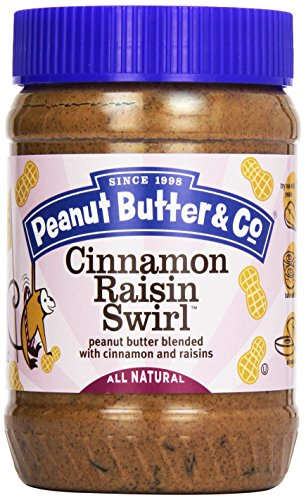 Peanut Butter & Co Cinnamon Raisin Swirl Peanut Butter, 16 oz - Chocolate Peanut Butter Swirl