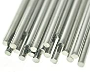 CHENGYIDA 20- PACK 100mmx2mm Stainless Steel Round Shaft Rod Axles For RC Toy Car RC Airplane Model Part