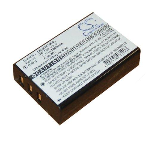 Simply Silver - New Battery fits Sonocaddie V300 Plus + Autoplay Golf GPS CS-SDV300SL