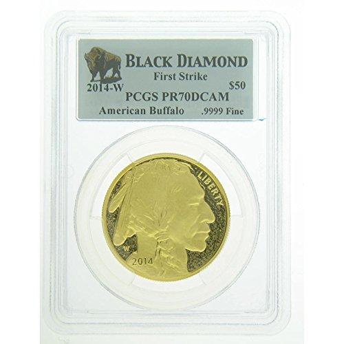 2014 Gold Buffalo - 2014 W American Gold Buffalo Coins $50 PR70 PCGS