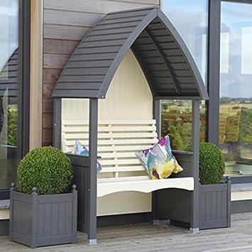 Cottage Heritage Anthrazit Und Creme Garten Und Terrasse Luxus Mit