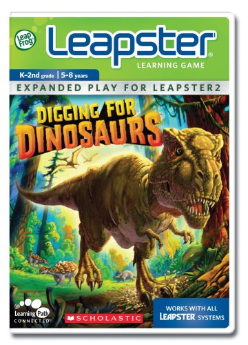LeapFrog Leapster Learning Game Scholastic Digging for Dinosaurs (Scholastic Games)