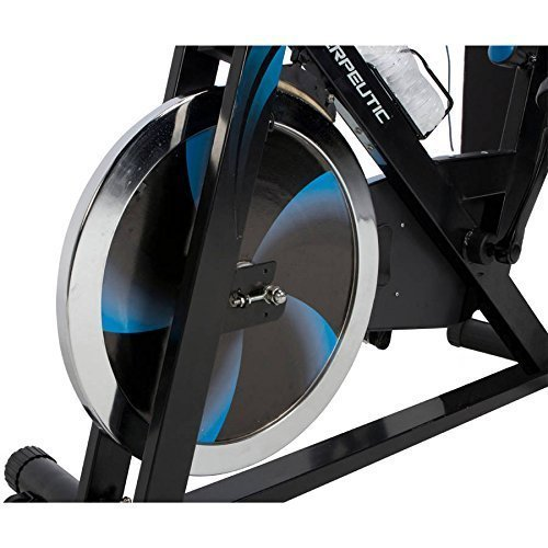 LX7 Indoor Cycling Exercise Bike with Computer and Heart Pulse Sensors