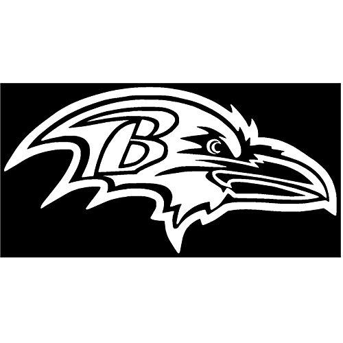 Baltimore Ravens Vinyl Sticker Decal (4