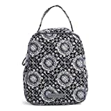 Vera Bradley Iconic Lunch Bunch, Signature Cotton, Charcoal Medallion