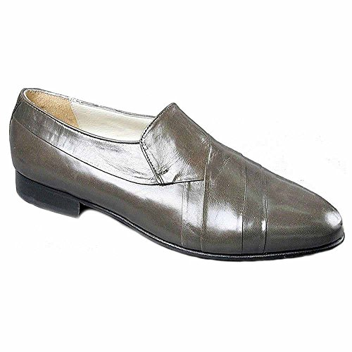 Giorgio Brutini Mens Doorboren Slip-on Loafer Grijs