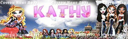 anner Birthday Poster Custom Name Painting ()